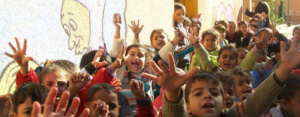 Protección de la infancia por crisis humanitaria en Gaza, Palestina